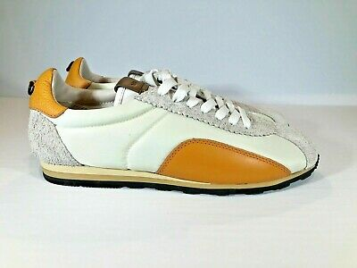 $110.99 • Buy New Coach Low Top Shoes Gray/Ivory/ Orange G1742 Shoes Sneakers Men's SIZE 10.5D