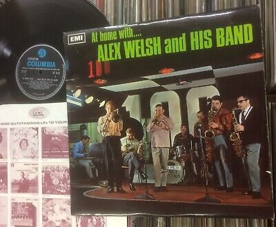 £8 • Buy Alex Welsh Band: At Home With... .1968 Columbia Mono.excellent Example+inner.