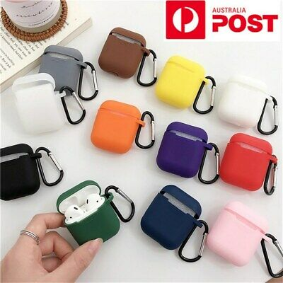 AU4.35 • Buy Mini Soft Silicone Case For Apple Airpods Shockproof Cover Earphone Protector Oz