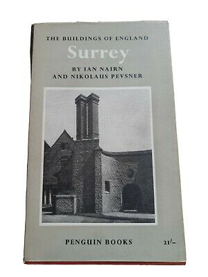 The Buildings Of England: Surrey, Ian Nairn And Nikolaus Pevsner, Paperback, 196 • 30£