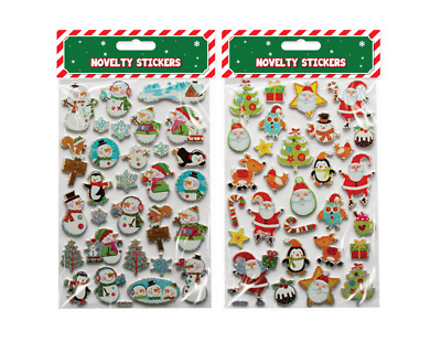 Quality Foam Fun Christmas Xmas Stickers For Kids Craft, Card-making Decoration • 2.39£