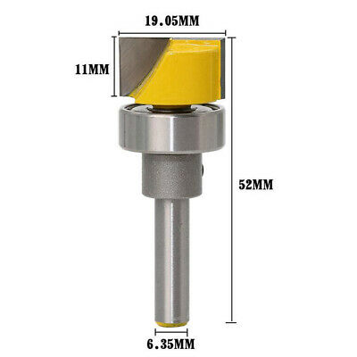 1/4 Inch Shank Hinge Mortise Template Router Bit • 4.85£