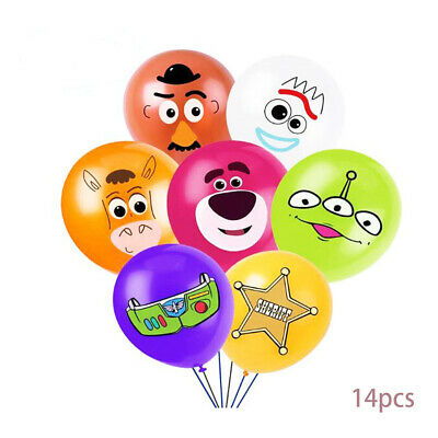 £3.59 • Buy 14 X 12  TOY STORY Character Latex Balloons Party Decoration Buzz Birthday Party