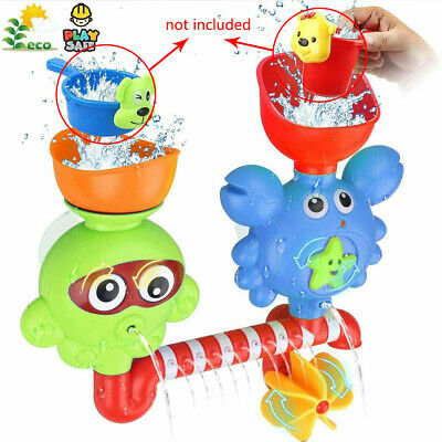 AU20.59 • Buy Bath Toys For 2 3 4 Year Old Kids Toddlers Wall Waterfall (Multicolor) Shower AU