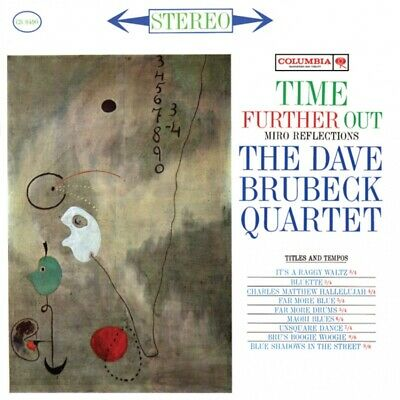 Dave Brubeck Quartet - Time Further Out Vinyl LP IMP6002-1	 • 49.99£