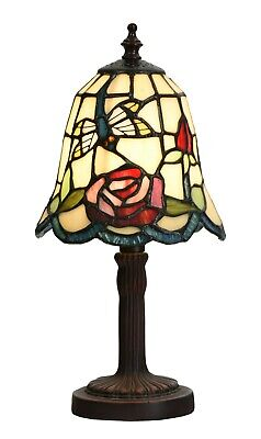 Dragon Fly Tiffany Table Lamp For Bedside  (a Pair) • 79.99£