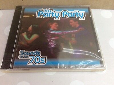 Sounds Of The 70s Party Party Music CD TimeLife Sealed News • 39.99£