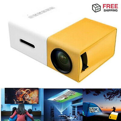 AU84.59 • Buy YG300 1080P Home Theater Cinema USB HDMI AV SD Mini Portable HD LED Projector AU