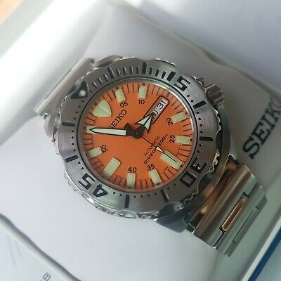 $ CDN512.93 • Buy SEIKO Diver SKX781 1st Gen. Orange Monster  With Box And Papers  .-