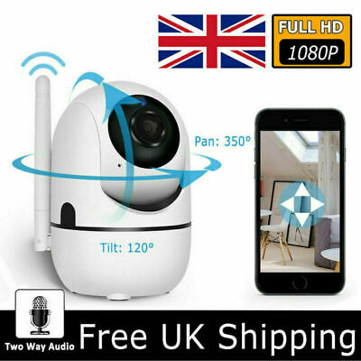 1080P WiFi IP Security Camera Wireless Indoor CCTV System Home Baby Pet Monitor • 19.99£
