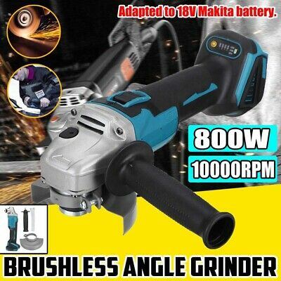 100mm Brushless Cordless Electric Angle Grinder Multifunction Polisher Tool Kit • 25.59£