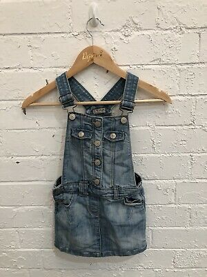 Girls Blue Next Dungarees Age 6 Years • 4.10£