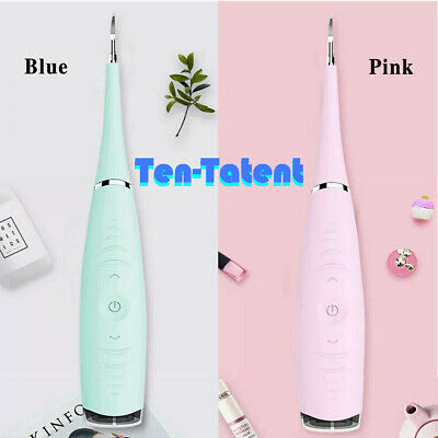 £7.69 • Buy Electric Tooth Cleaner Ultrasonic Oral Irrigator Cleaning Kit Teeth Stain Dental