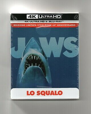 Jaws - 4K UHD + 2D Blu-ray Steelbook - NEW/SEALED • 3.20£