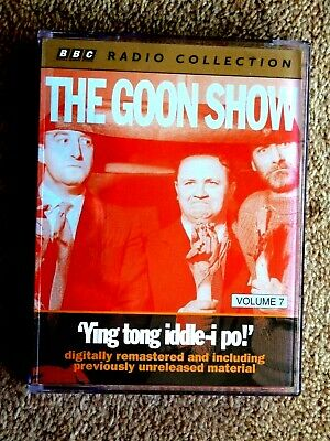 The Goon Show - Vol.7 - Ying Tong Iddle - I Po - Audio Books - ( 2 Cassettes ) • 1.99£
