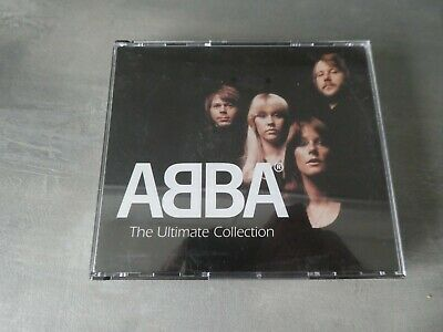 ABBA – The Ultimate Collection Readers Digest 4 CD SET Album Set Fat Case   Wa • 7.99£