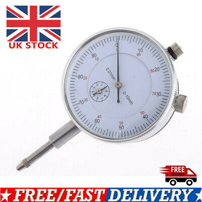 0.01mm Accuracy Measurement Instrument Dial Indicator Gauge Precision Test Kit • 9.90£