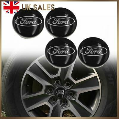 4X 54mm Alloy Wheel Center Cap Hubs Set For Ford Focus Edge Fiesta Transit S-MAX • 9.98£