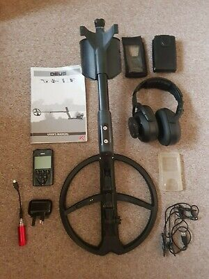 Xp Deus 28rcws5 Metal Detector With Accessories, Carry Bag & Box, Fully Working • 875£