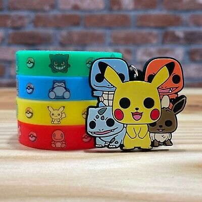 Pokemon Party Bag Fillers & Decorations | Favours, Supplies, Loot, Balloons • 2.50£