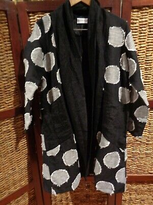 AU104.99 • Buy Woman's J GENERATION Linen Blend Stylish Wear Coat Jacket SZ 10-12