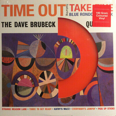 The Dave Brubeck Quartet - Time Out VINYL LP ORANGE LP DOL705MB • 16.99£