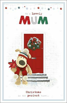 Boofle To A Lovely Mum Perfect Time Christmas Greeting Card Cute Xmas Cards • 3.99£