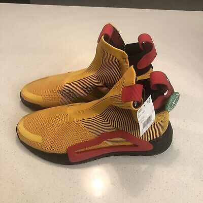 AU96.94 • Buy Adidas Trae Young N3xt L3v3l Shoes Sneakers Gold Red Next Level F36292 Size 11.5