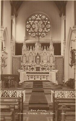 Postcard - Herne Bay - High Altar - Catholic Church • 2.75£