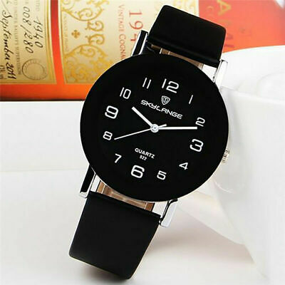 $ CDN7.55 • Buy Casual Simple Round Stainless Steel Band Women Girl Quartz Wrist Watch Leather