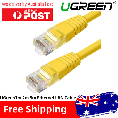 AU3.19 • Buy 1m 2m 5m Ugreen Branded Ethernet Network Cable LAN Router Internet Patch Lead