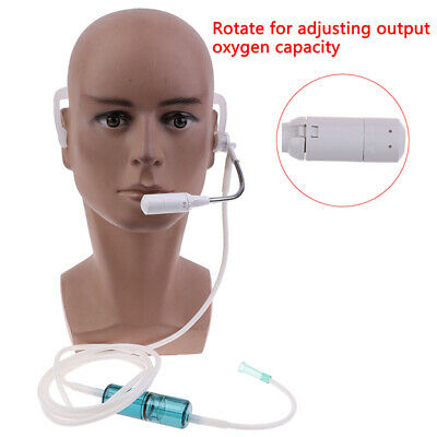 2m Silicone Headset Type Oxygen Nasal Cannula Straw Tube Concentrator    HR • 6.62£