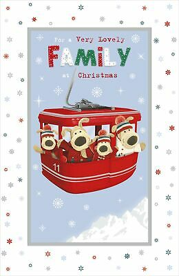 Boofle A Very Lovely Family Christmas Greeting Card Cute Xmas Cards • 3.99£