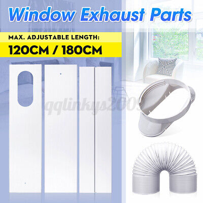AU16.64 • Buy Adaptor / Window Slide Kit Plate / Exhaust Hose For Portable Air Conditioner