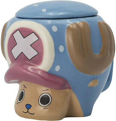 £15.95 • Buy Official One Piece Tony Tony Chopper 3d Ceramic Coffee Mug Cup With Lid Aby