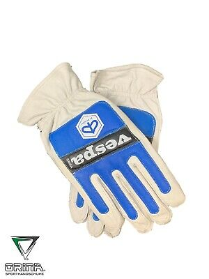 Orina 1970's Retro Vespa Motorcycle / Scooter Gloves - Genuine NOS - Leather  • 39.99£