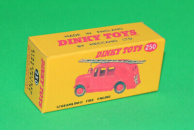 £3.99 • Buy DINKY Reproduction Box 250 Streamlined Fire Engine Box REPRO