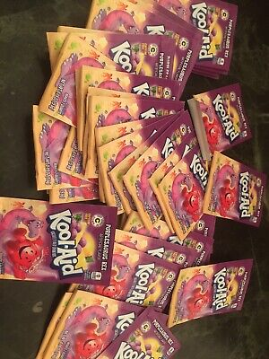 144 Packs Of Rare Purplesaurus Rex Kool-Aid Drink Mix  Grape Limited Edition • 34.50£
