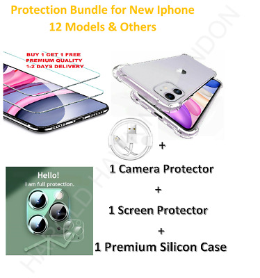 9H Tempered Glass Camera Lens Protector Cover HD Film For New IPhone 12 Models • 3.95£