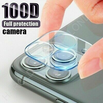 Rear Camera Lens Cover Tempered Glass Protector For IPhone 12 & 11 Models • 3.95£