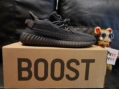 AU760 • Buy Adidas Yeezy Boost 350 V2 'Black' Non-Reflective Mens Size US 9.5