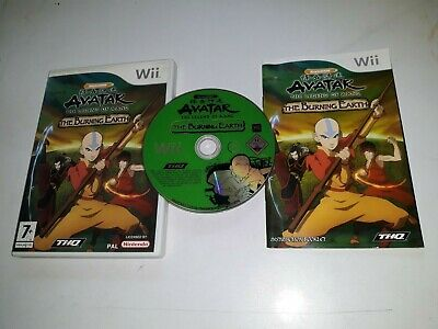 * NINTENDO Wii / Wii U Game * AVATAR THE LEGEND OF AANG THE BURNING EARTH * • 5.97£