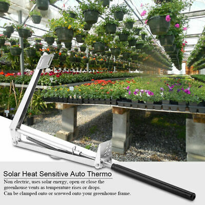 Automatic Greenhouse Window Roof Vent Opener Solar Auto Heat Sensitive Temp Kit • 17.99£