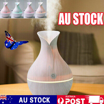 AU16.88 • Buy Aroma Essential Oil Diffuser Air Purifier LED Ultrasonic Aromatherapy Humidifier