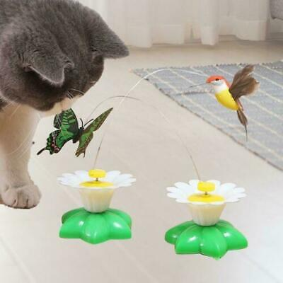 AU13.68 • Buy Cats Toy Interactive Cat Toy Automatic Rotating Electric Flying Bird Butterfly
