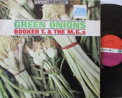 BOOKER T & THE MGs - Green Onions ~ VINYL LP STEREO • 36.54£