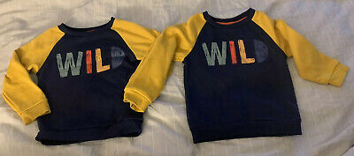 Primark Wild Matching Jumpers Baby Boys Clothes 18 To 24 Month's 24 To 36 Months • 0.99£