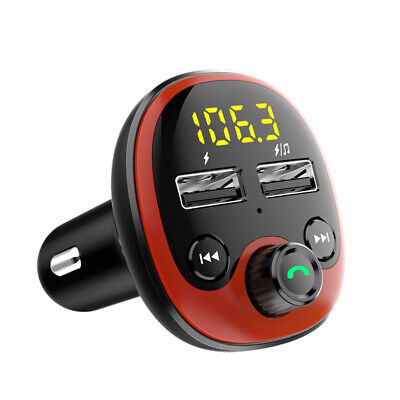 £9.65 • Buy Wireless Bluetooth Car MP3 Player FM Transmitter Phone USB Charger Handsfree Kit