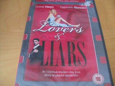 Lovers & Liars -goldie Hawn - New/sealed - Dvd • 0.90£