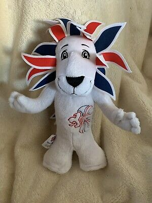 London 2012 Lion Olympic Games Team GB Mascot Soft Toy Plush Collectible • 8.50£